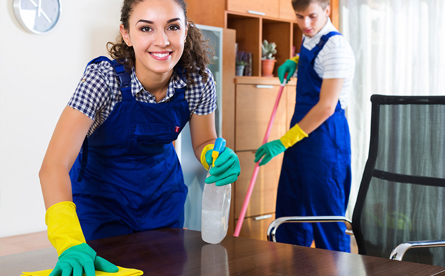 regular domestic cleaners